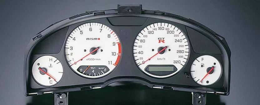 Nismo Combination Meter Nissan Skyline Gtr Bnr34 Rb26det