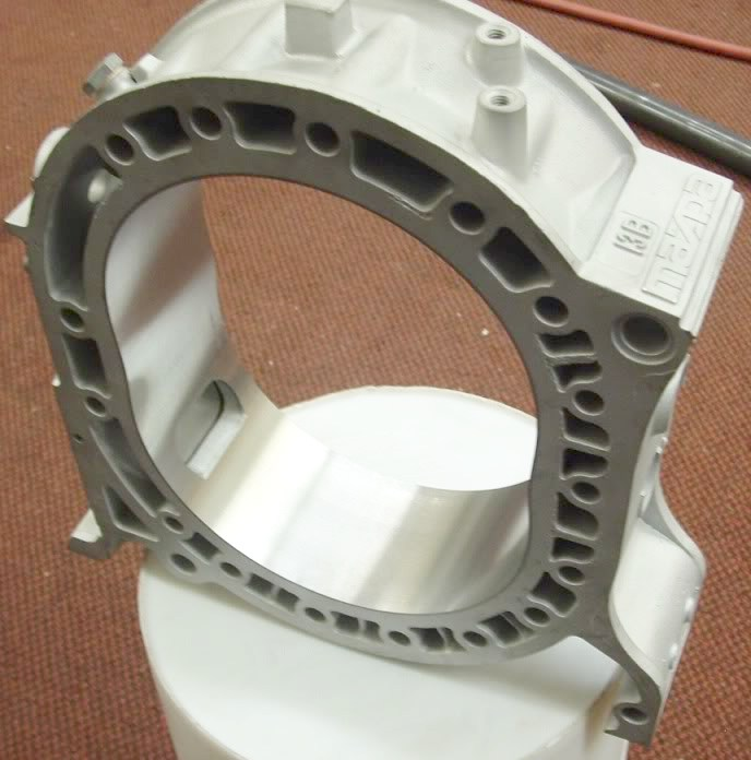 Mazda 13b Rotary Engine: GENUINE MAZDA 13B TURBO ROTARY ENGINE FRONT ROTOR HOUSING