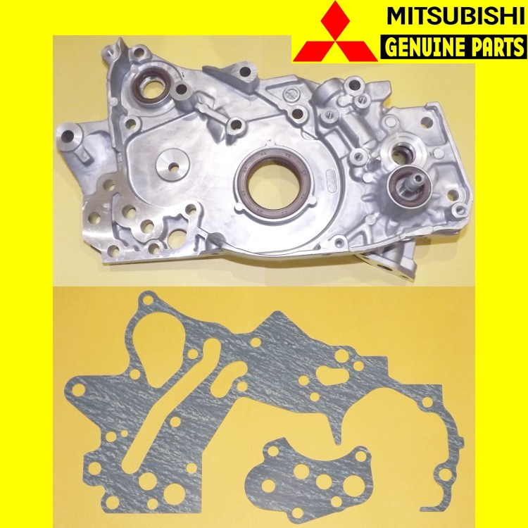 GENUINE MITSUBISHI EVOLUTION IX LANCER EVO 9 OIL PUMP OEM MD366260