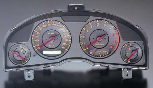 Nismo Combination Meter Nissan Skyline R34 Er34 Black Face