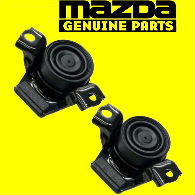GENUINE MAZDA RX8 ENGINE MOTOR MOUNTS AUTOMATIC TRANSMISSION RIGHT & LEFT  OEM