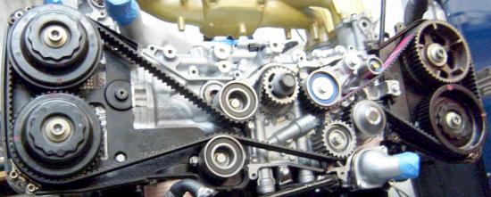 Gates Timing Belt Cambelt Subaru Wrx Sti Impreza Legacy