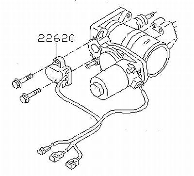 Genuine Nissan Skyline Er34 R34 Rb25det Neo C34 Stagea Throttle