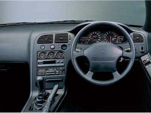 Nissan Skyline R33 Dash Panel Trim Stereo Surround Bezel ...